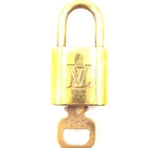 Gold Lock Keepall Speedy Key Set #340 Bag